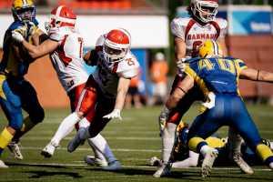 American Football EM: Schweden vs. Dänemark