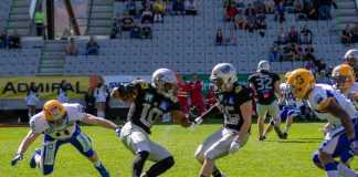 Swarco Raiders Tirol vs. Graz Giants