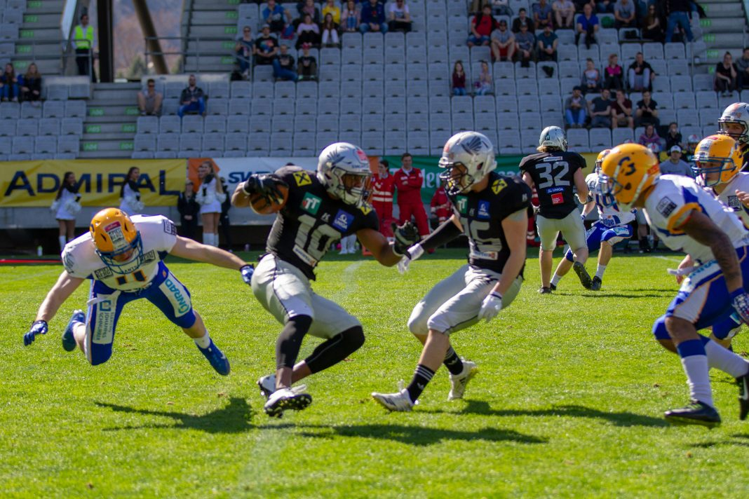 Swarco Raiders Tirol vs. Graz Giants