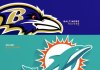 Dolphins vs. Ravens