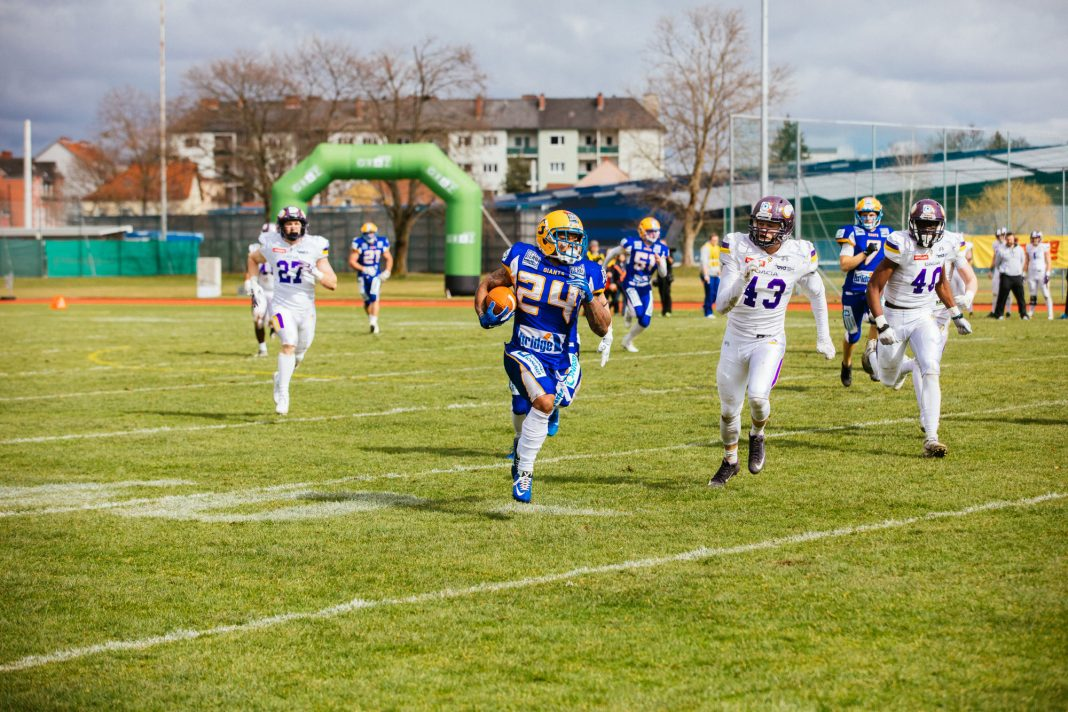 Graz Giants vs. Vienna Vikings