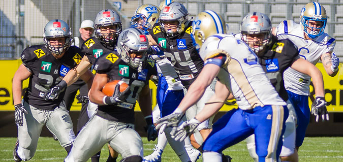 Swarco Raiders Tirol vs. Bratislava Monarchs