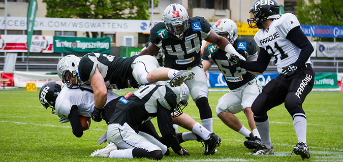 Swarco Raiders vs. Prague Black Panthers