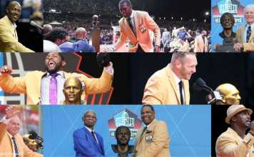 NFL Hall Of Fame Class 2018