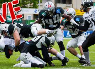 Prague Black Panthers vs. Raiders Tirol