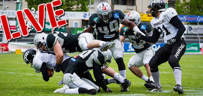 Prague Black Panthers vs. Raiders Tirol
