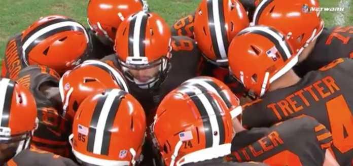 Cleveland Browns Huddle