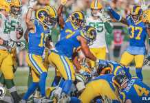 Los Angeles Rams. vs. Green Bay Packers
