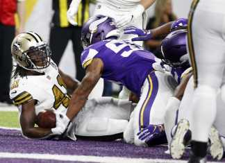 Minnesota Vikings vs. New Orleans Saints
