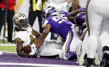 Minnesota Vikings vs. New Orleans Saints