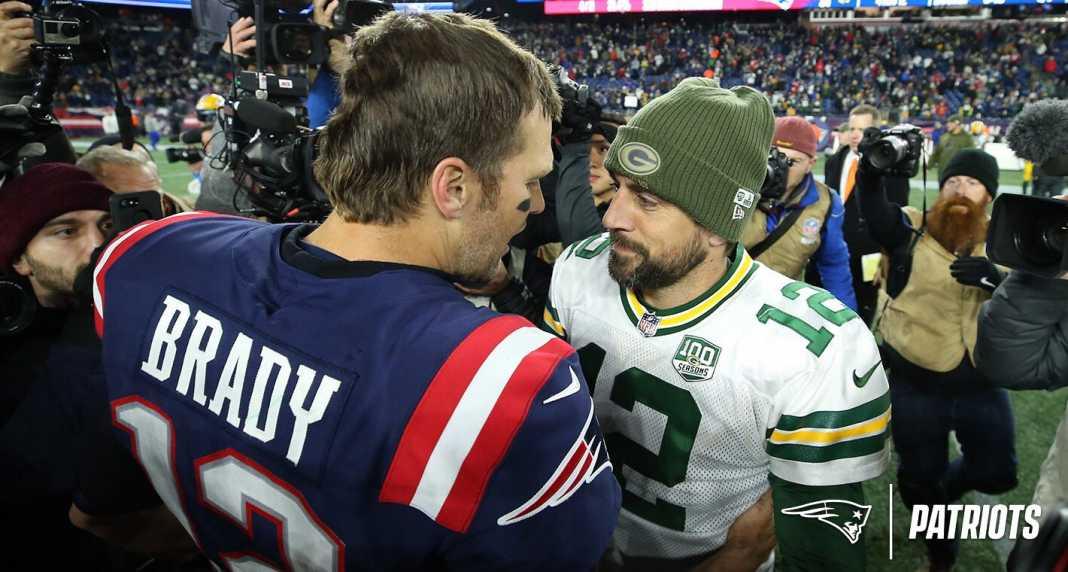 Tom Brady und Aaron Rodgers