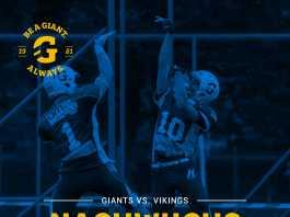 Giants vs. Vikings Nachwuchs