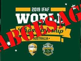 Football WM 2019 abgesagt