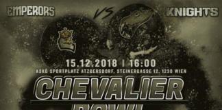 Vienna Knights Chevalier Bowl
