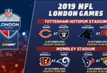 NFL London Games 2019