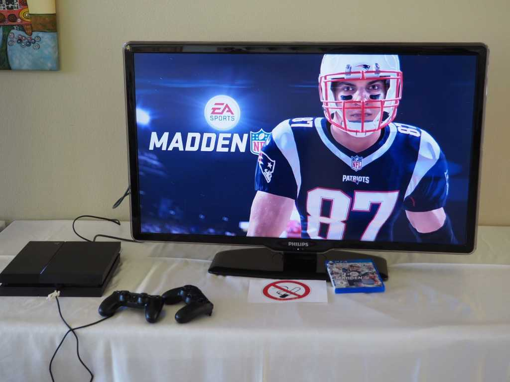 Play Station Ecke Super Bowl Party 2018