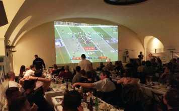 Asperhofen Blue Hawks Super Bowl Party