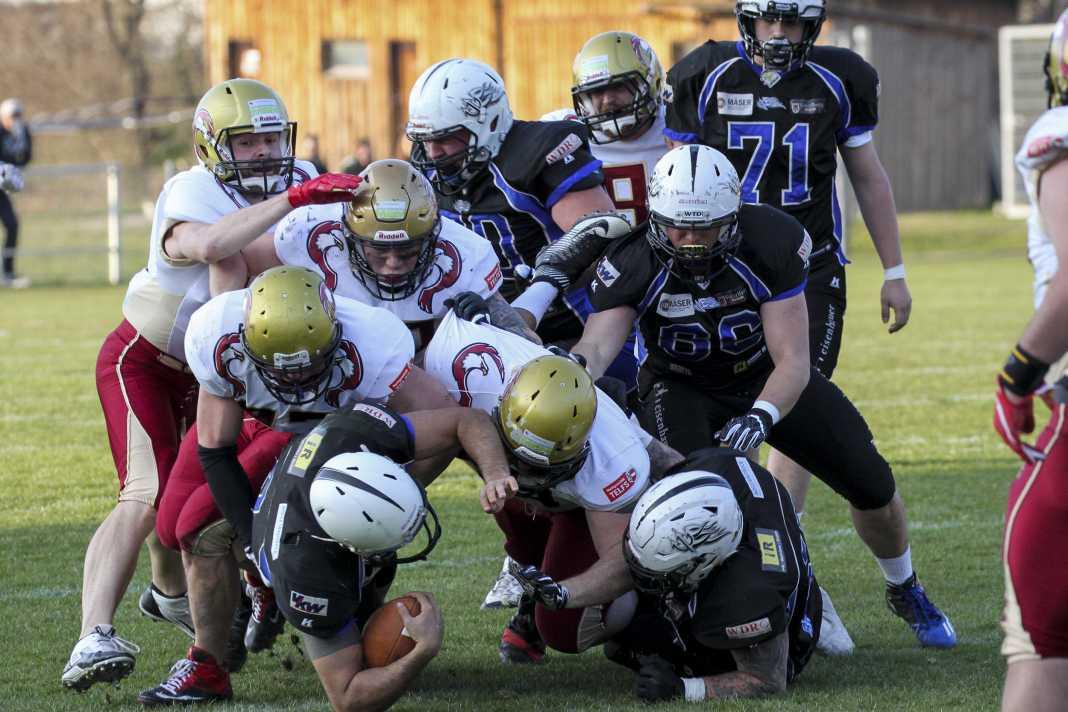 Hohenems Blue Devils vs. Telfs Patriots