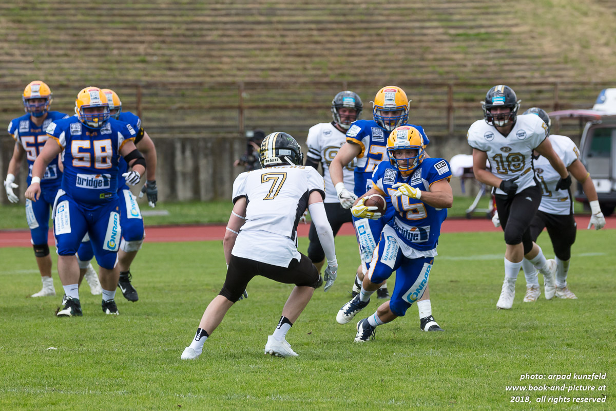 Mödling Rangers vs. Graz Giants
