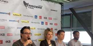 Pressekonferenz Swarco Raiders Tirol