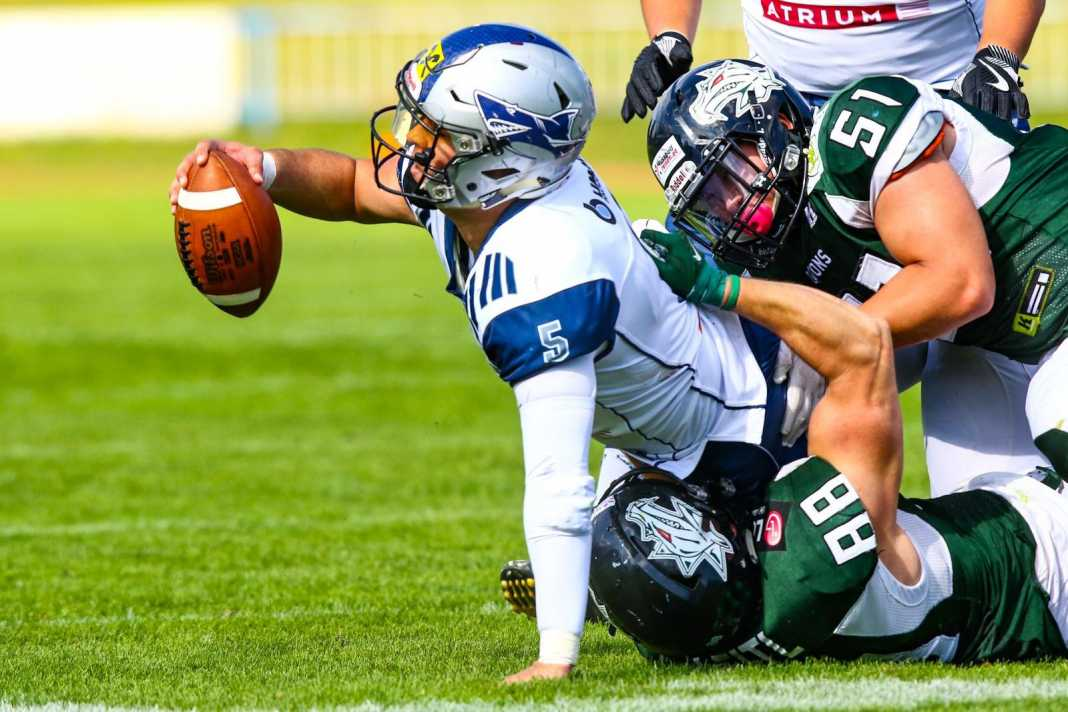 Danube Dragons vs. Steelsharks Traun