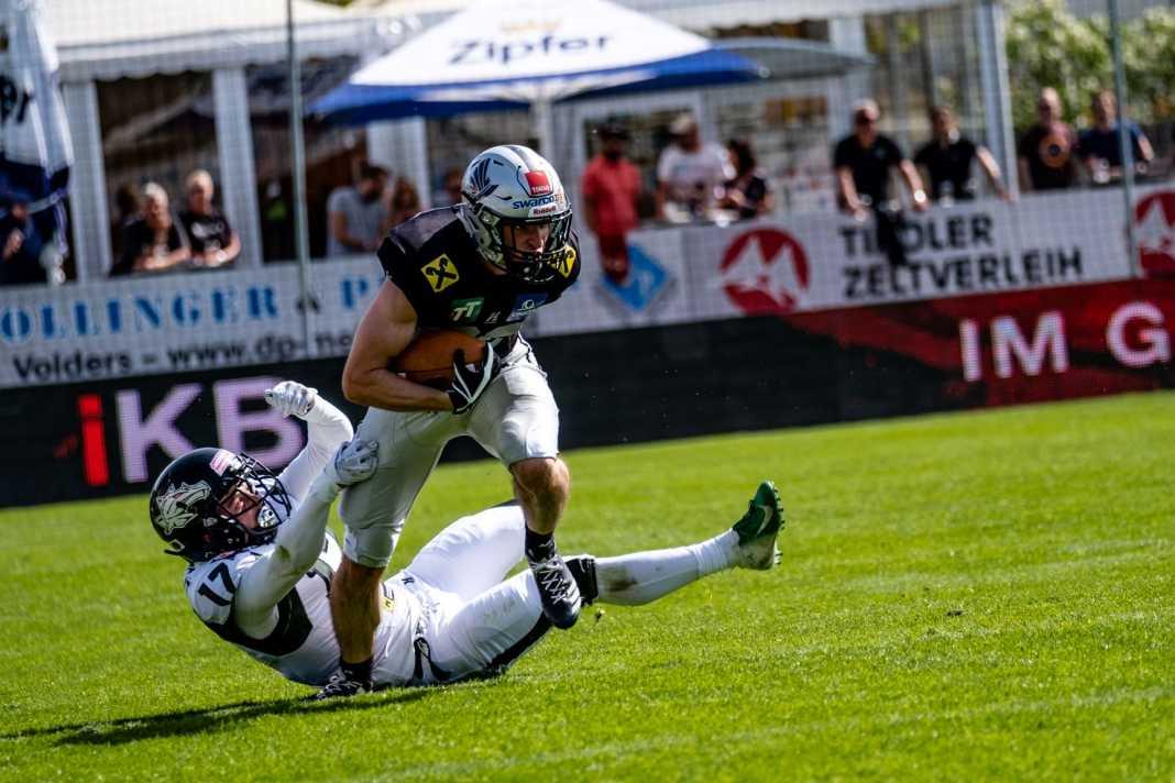 Swarco Raiders Tirol vs. Danube Dragons