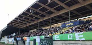 Graz Giants - Tribüne Stadion Eggenberg