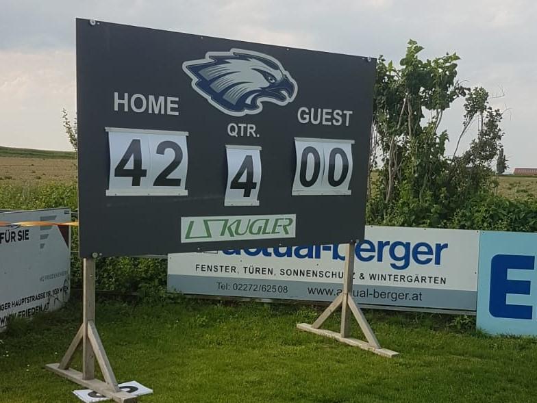 Blue Hawks Sieg gegen Spartans 2