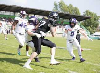 Vienna Vikings vs- Prague Black Panthers
