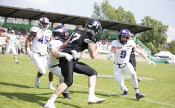 Vienna Vikings vs- Prague Black Panthers