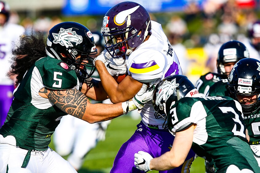 Vienna Vikings vs. Danube Dragons