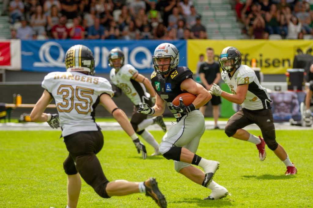 Swarco Raiders Tirol vs. SonicWal Rangers Mödling