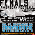 Mini & Jugend Bowl in Tirol: Football Finalspiele in Innsbruc... on Twitpic