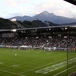 A new record. The Swarco Raiders Tirol beat Flash la Courneuv... on Twitpic