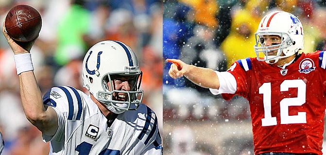 Manning und Brady Blair White