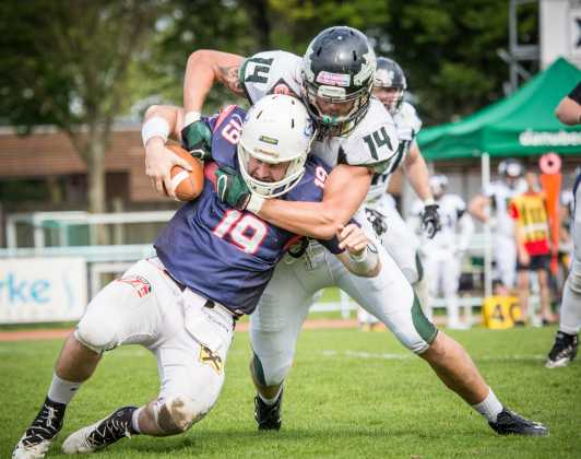 Amstetten Thunder vs. Danube Dragons