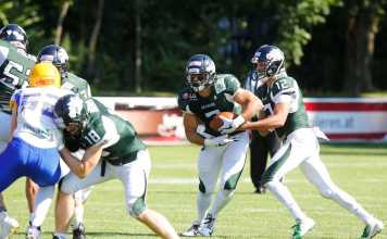 Danube Dragons vs. Graz Giants