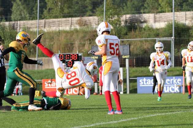 Upper Styrian Rhinos vs. St. Pölten Invaders U18