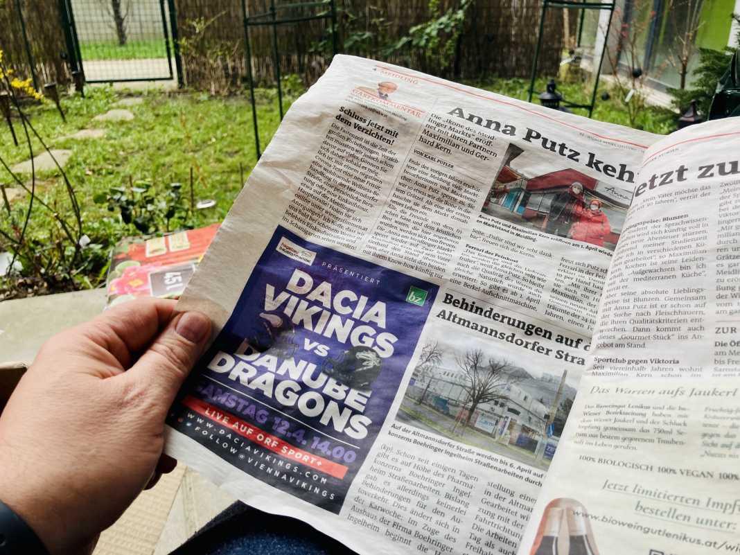 Vikings vs. Dragons Zeitung