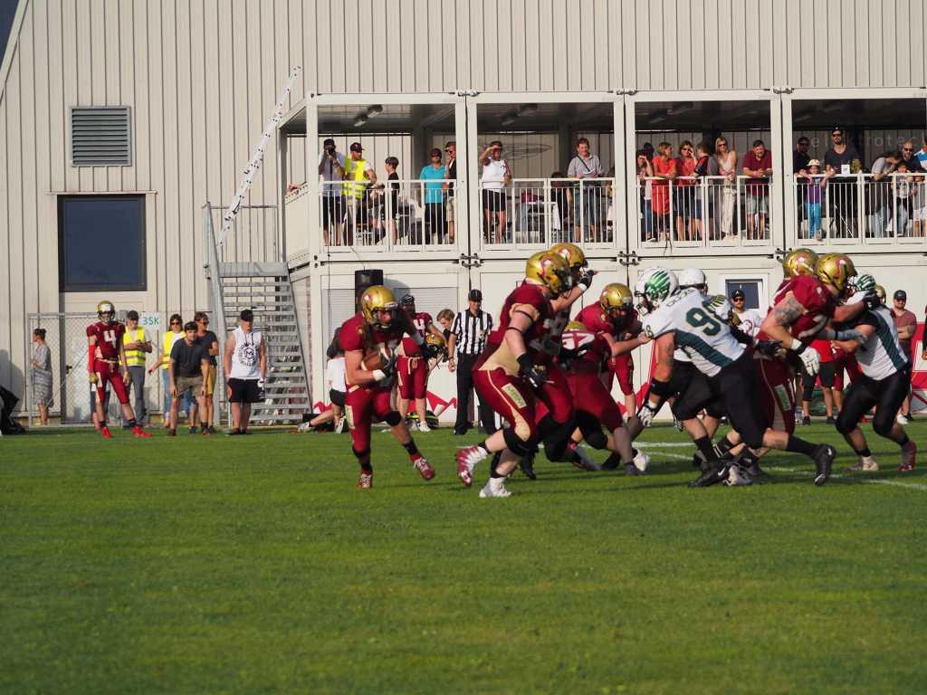 Telfs Patriots vs. Salzburg Football Team