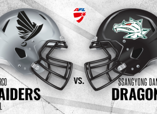 Swarco Raiders vs. Danube Dragons