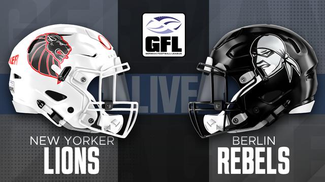 German Football League GFL Braunschweig Lions vs. Berlin Rebels