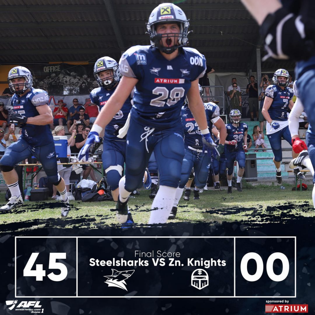 Steelsharks Traun vs. Znojmo Knights