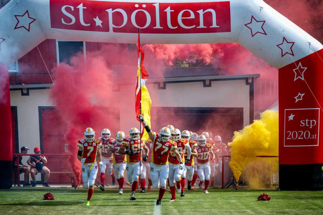 St. Pölten Invaders vs. Vienna Vikings 2