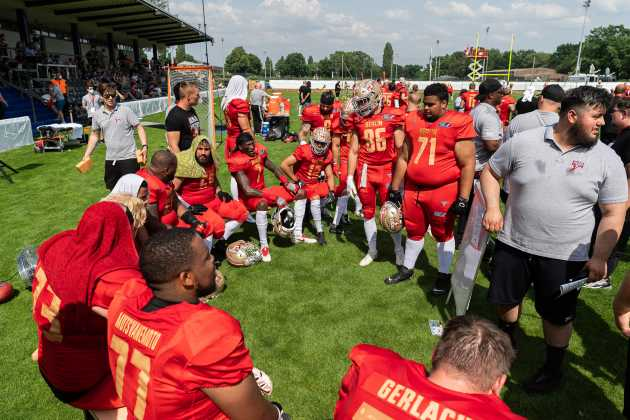 Berlin Thunder gegen Leipzig Kings - European League of Football