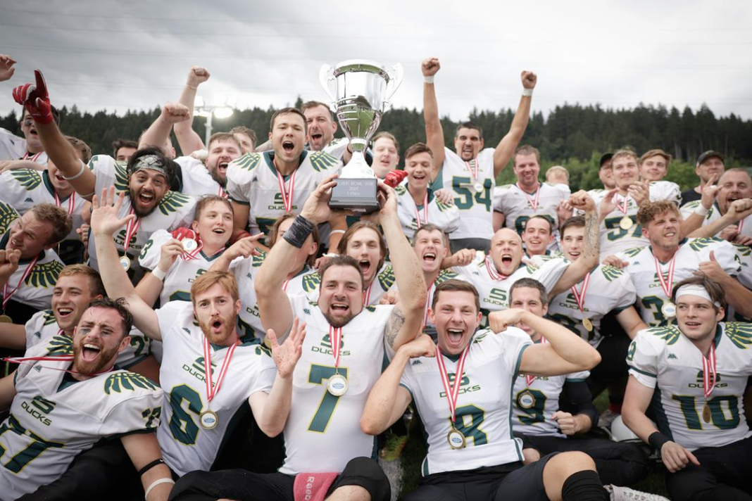 Salzburg Football Team Silver Bowl Champion