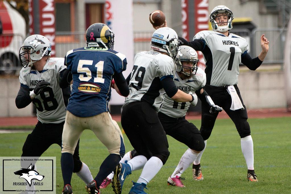 Huskies Wels vs. Gmunden Rams