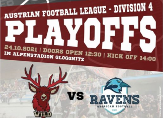 AFL Division 4 Playoffs BlackValley Wild vs. BSK Ravens