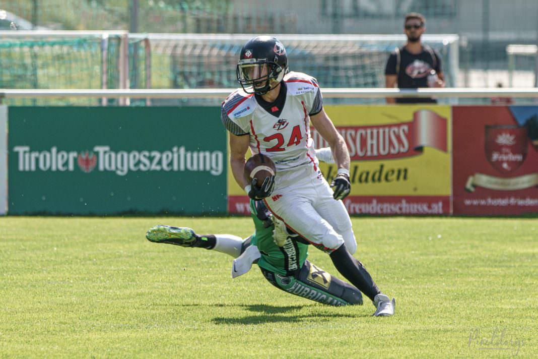 Styrian Hurricanes vs. Schwaz Hammers Sandro Sailer